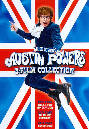 Austin Powers 3-Film Collection (DVD Includes UltraViolet)  Internationa
