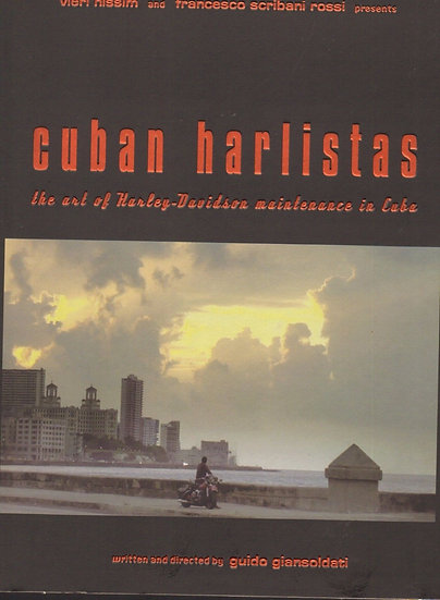 NEW CUBAN HARLISTAS -the art of Harley Davidson maintenanse in Cuba (DVD)