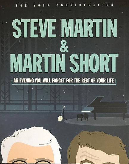 3 FYC 2018 STEVE MARTIN & MARTIN SHORT-Tig Notaro-Seth Rogen DVD For Your Consid