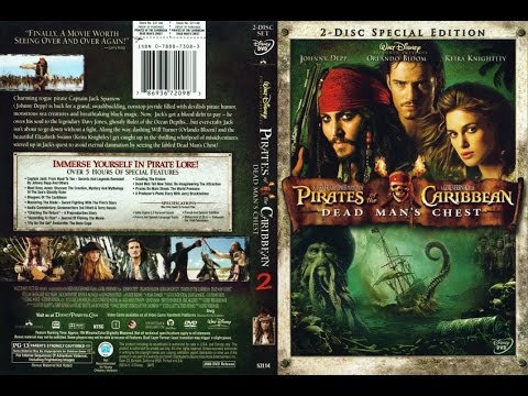 Pirates of the Caribbean: Dead Man's Chest (DVD, 2-Disc Set, Special Edition)