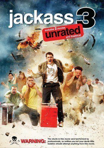 Jackass 3 (DVD,2010 widescreen  unrated)