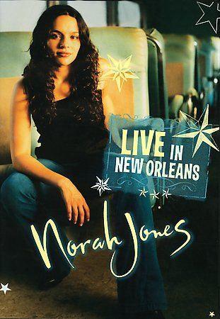 USED Norah Jones - Live in New Orleans,( DVD)