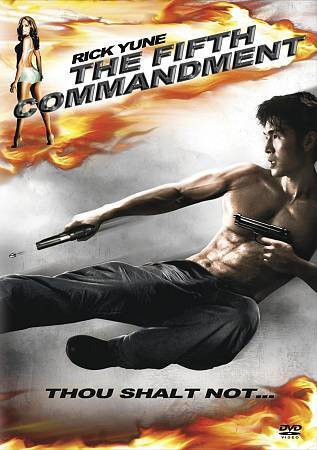 The Fifth Commandment (DVD, 2009) Rick Yune