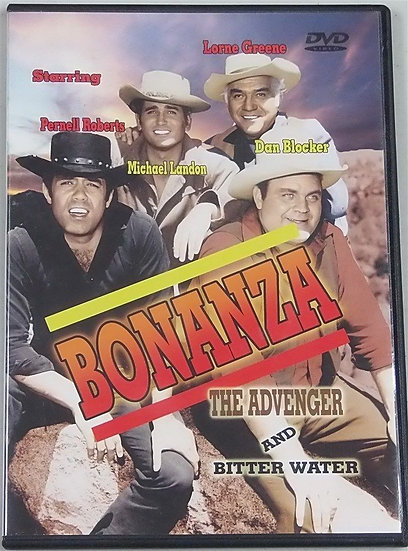 Bonanza: The Avenger and Bitter Water (DVD ,2004 DIGVIEW Productions)