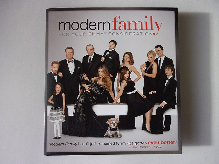 FYC 2014 Modern Family EMMY DVD For Your Consideration