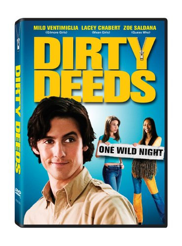 DIRTY DEEDS DVD 2005 Milo Ventimiglia, Zoe Zaldana