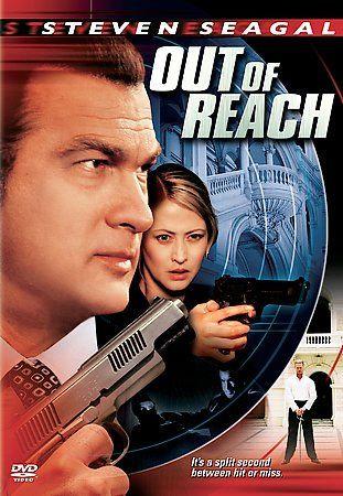 OUT of REACH (DVD 2004) Steven Seagal/Ida Nowakowska Matt Schulze