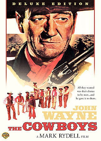 The Cowboys (1971) -Deluxe Edition  (DVD 2007) John Wayne/Colleen Dewhurst/Bruce