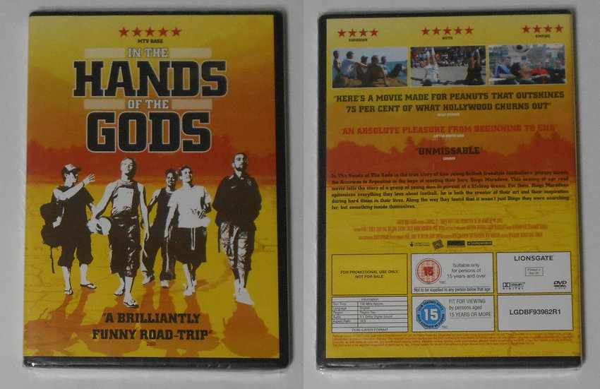 In the Hands of the Gods (DVD 2007)