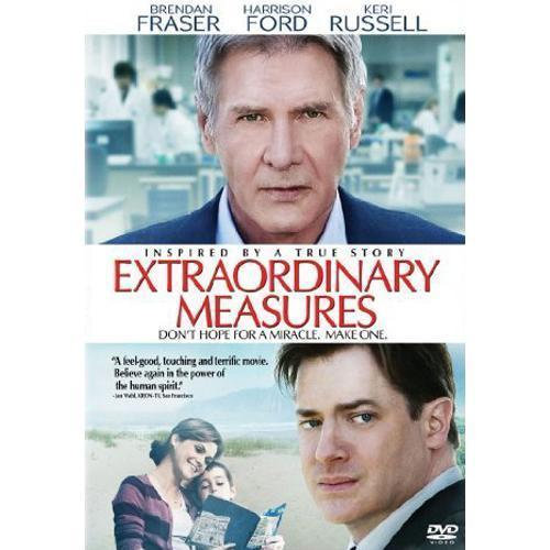 Extraordinary Measures (DVD, 2010) Harrison Ford Brendan Fraser Keri Rus