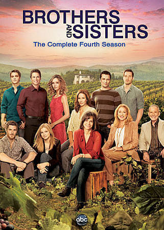 Brothers and Sisters: The Complete Fourth Season (DVD, 2010, 6-Disc Set)