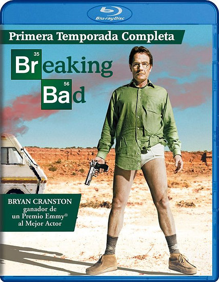 USED-Breaking Bad: The Complete First Season (Blu-ray Disc, 2010, 2-Disc Set)