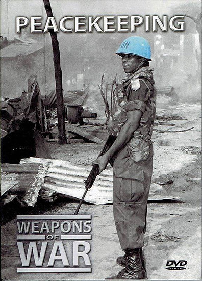 USED-Weapons of War: Peacekeeping DVD and booklet #21