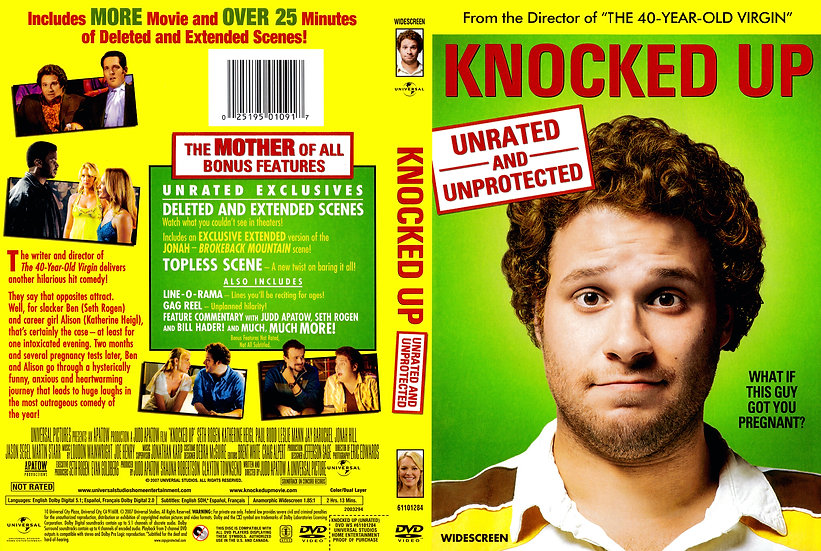 Knocked UP Unrated and Unprotected (DVD, 2001widescreen)