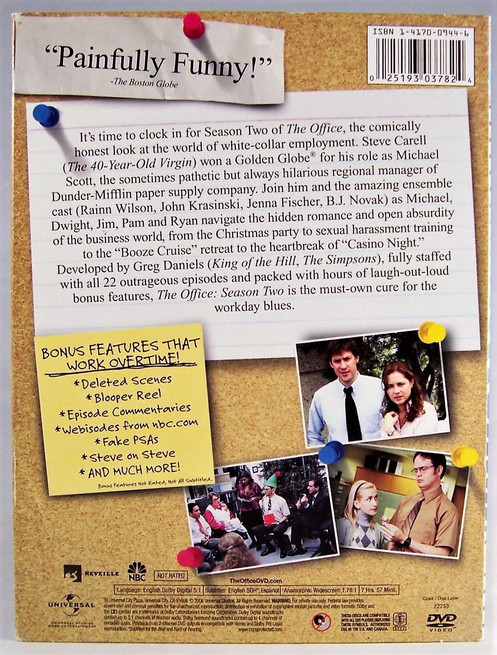 USED-The Office Season Two to Season 6