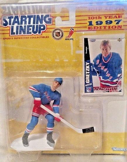 NEW Starting Lineup 10Th Year 1997 Edition Wayne Gretzky NHLPA