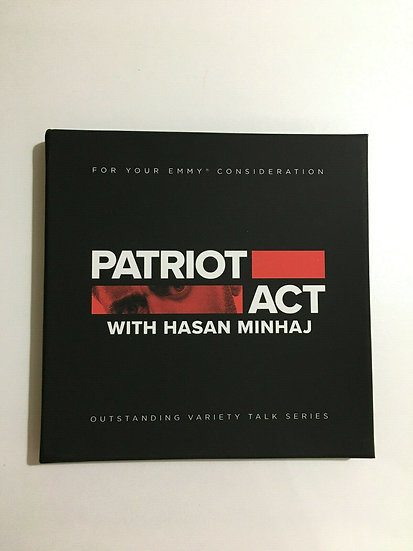 FYC 2019 PATRIOT ACT with Hasan Minhaj Pressbook NETFLIX