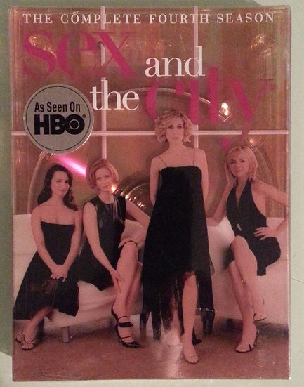 SEX AND THE CITY the complete fourth season (DVD 2003)