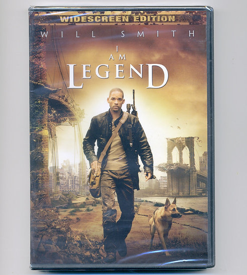 I Am Legend (DVD, 2007) Will Smith