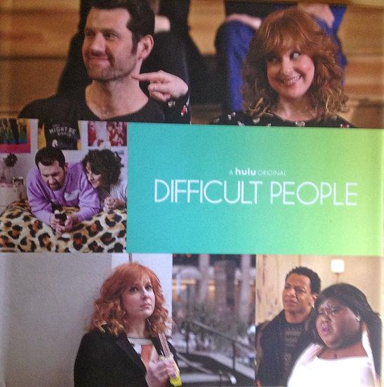 FYC 2017 Difficult People Season 2 HULU EMMY FYC View 2 DVDs