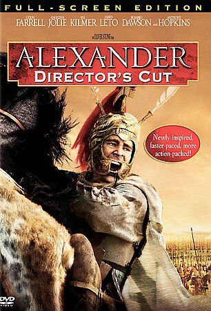 Alexander - Director's Cut (DVD; Fullscreen Screen) Angelina Jolie, Colin Farrel