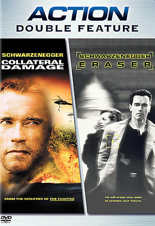 Collateral Damage/Eraser Action Double Feature (DVD, 2006)