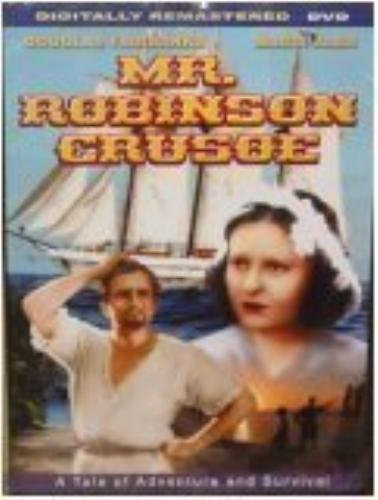 USED Mr. Robinson Crusoe ( DVD 2004 B&W DIGVIEW Productions) Slim Case Douglas