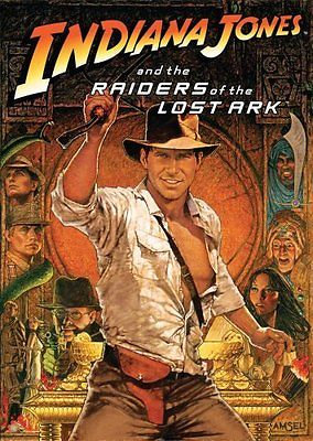 USED-Indiana Jones and The Raiders of the Lost ArkHolographic Slip Cover