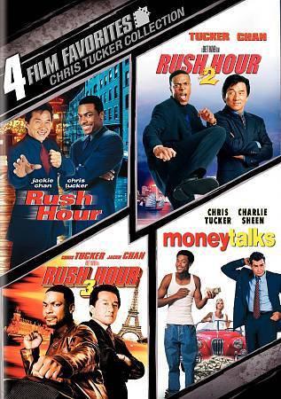 4 Film Favorites –Chris Tucker Rush Hour, Rush Hour 2, Rush H