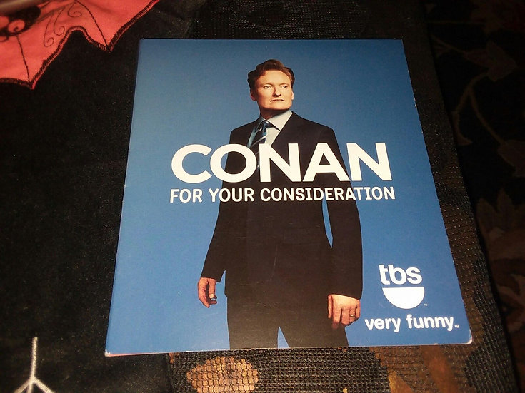 FYC 2014 CONAN O'BRIEN For Your Consideration DVD