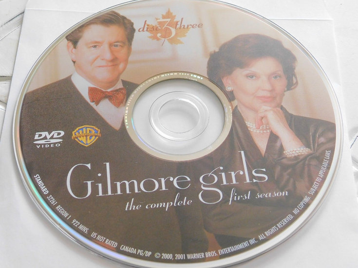 USED- Gilmore Girls First Season Dvd Replacement disc 3 ONLY