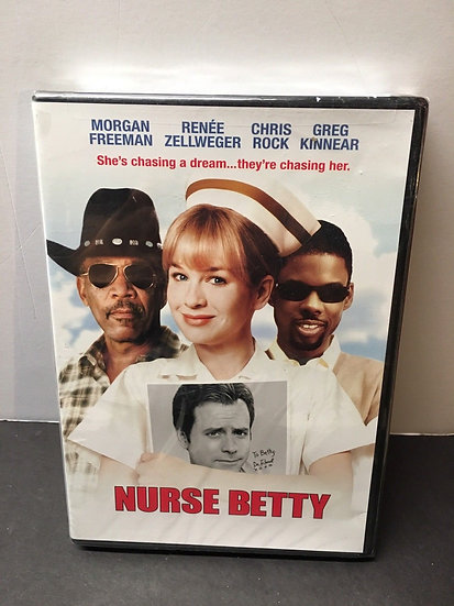 Nurse Betty (DVD 2009) Renée Zellweger/Morgan Freeman/Chris Rock/ Greg Kinnear