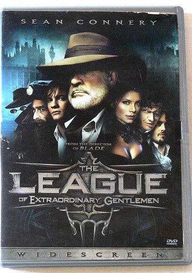 USED-The League of Extraordinary Gentlemen (DVD, 2003, Widescreen)