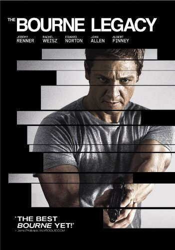 The Bourne Legacy (DVD, 2012) Jeremy  Renner Albert Finney, Edward Norto