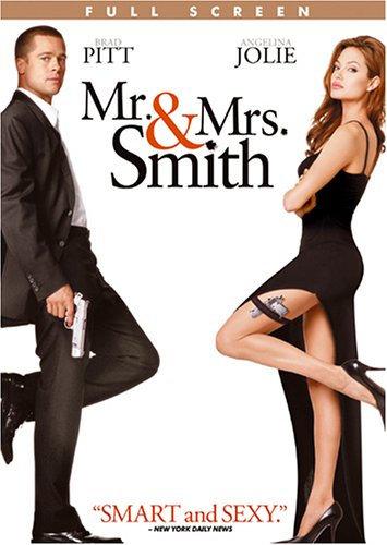 Mr. and Mrs. Smith (DVD, Full Screen)  Brad Pitt, Angelina Jolie