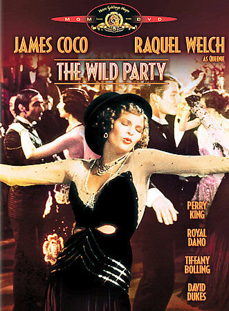 The Wild Party - Raquel Welch, James Coco - MGM (DVD) - OOP/Rare