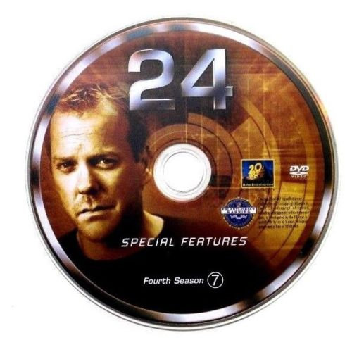 USED- 24 Fourth Season Dvd Replacement disc 7 ONLY