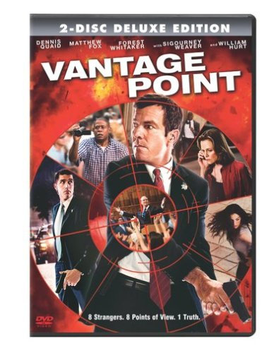 NEW Vantage Point (DVD, 2008, Widescreen) Dennis Quaid, Sigourney Weaver
