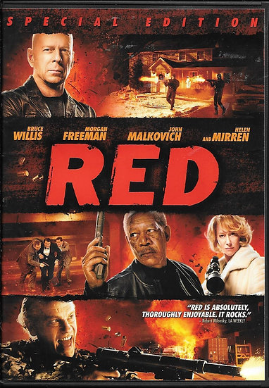 Red Special Edition (DVD 2010)  Bruce Willis Morgan Freema