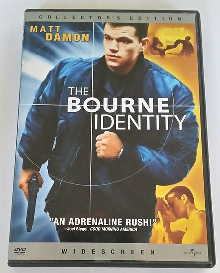 USED-The Bourne Identity (DVD Widescreen)  Collector's Edition