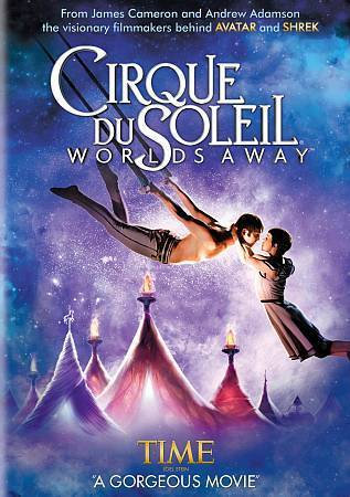 Cirque du Soleil: Worlds Away (DVD, 2013 Widescreen Region 1) by James C