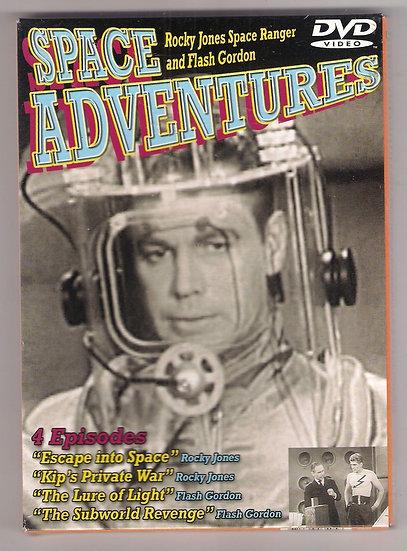 Space Adventures Rocky Jones Space Ranger Flash Gordon (DVD) 4 episodes