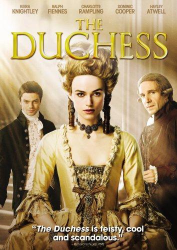 The Duchess (DVD, 2008, Sensormatic Region 1) Keira Knightley Ralph Puente
