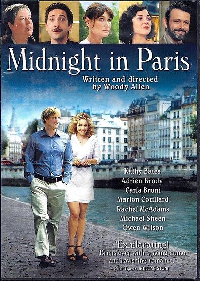 Midnight in Paris ( DVD, 2011)  Owen Wilson, Rachel Mcadams, Adrien Brod