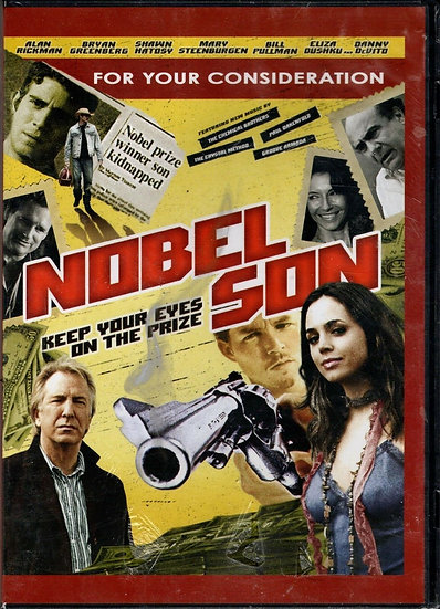 "NEW ALAN RICKMAN ""NOBEL SON"" DVD"