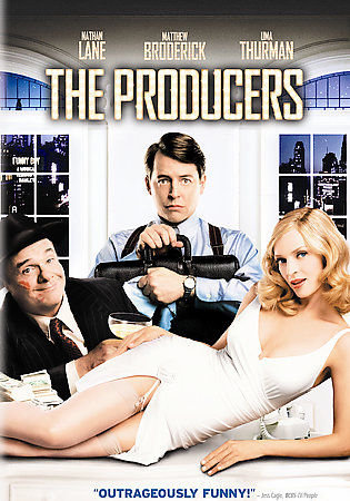 The Producers (DVD, 2006, Full Frame)