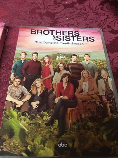 Brothers & Sisters: The Complete Fourth Season (DVD, 2010, 6-Disc Set)