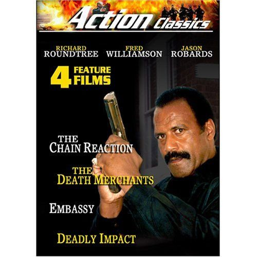The Chain Reaction, The Death Merchants, Embassy, Deadly Impact-4 Featur