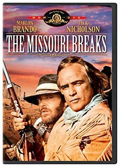 The Missouri Breaks 1976 (DVD Widescreen) Jack Nicholson, Marlon Brando