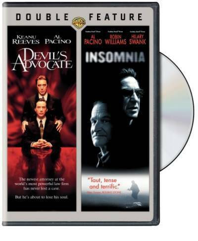 Devil's Advocate / Insomnia DVD Double Feature